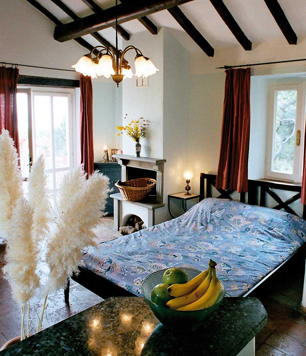 Appartement mit Bett