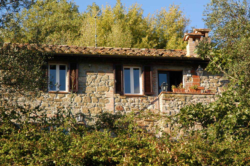 Casa Volpini mit Eingang