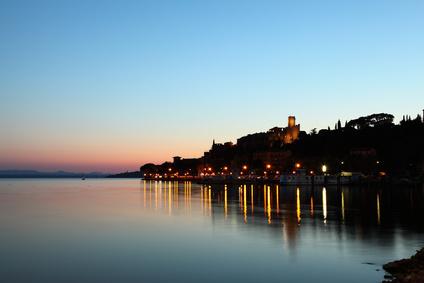 Romantische Abendstimmung in Passignano