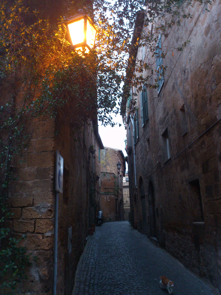 Orvieto im Herbst