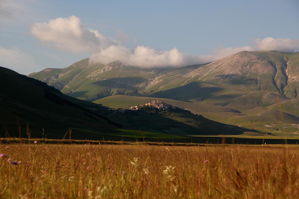 Traumhafte Landschaft - die Hochebene von Castellucio