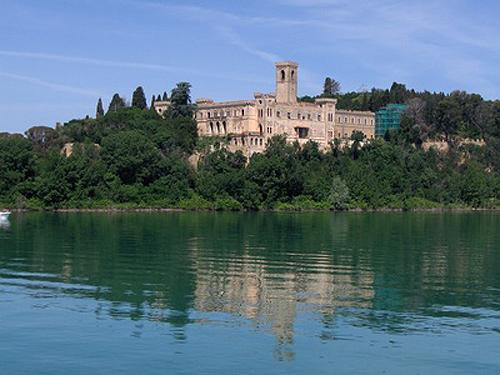 Kastell auf der Isola Maggiore - Lago Trasimeno
