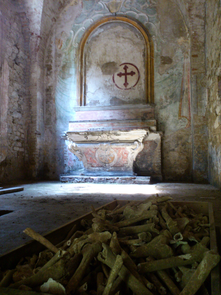 Krypta auf der Isola Maggiore