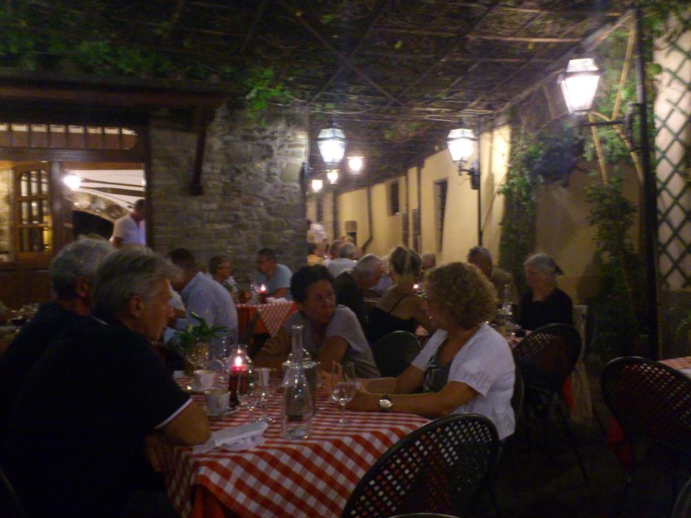 Eines der besten Lokale - Pescatore in Passignano