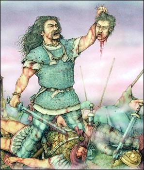 Die für die Römer vernichtende  Schlacht bei Sanguineto