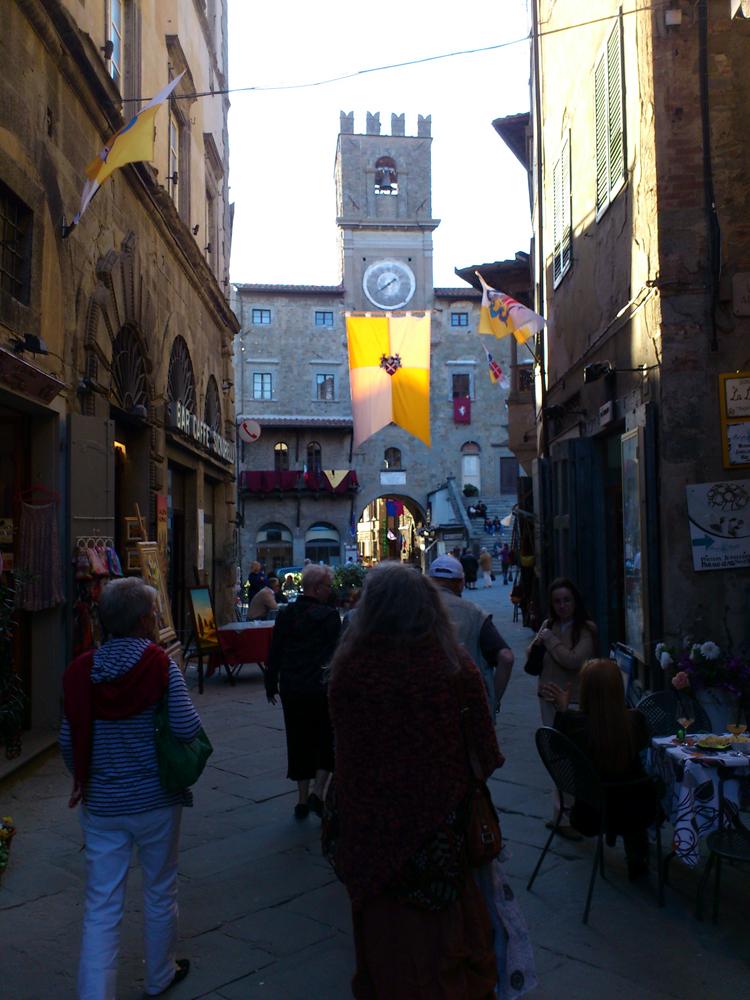 Abendstimmung in Cortona