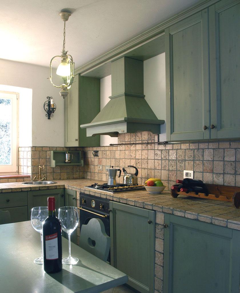 Küche mit Geschirrpüler (Wohnung Vera)